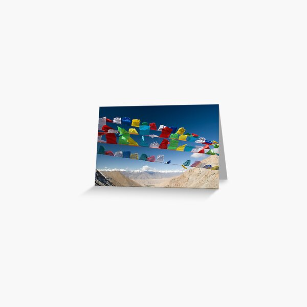 Holy Flags Greeting Card