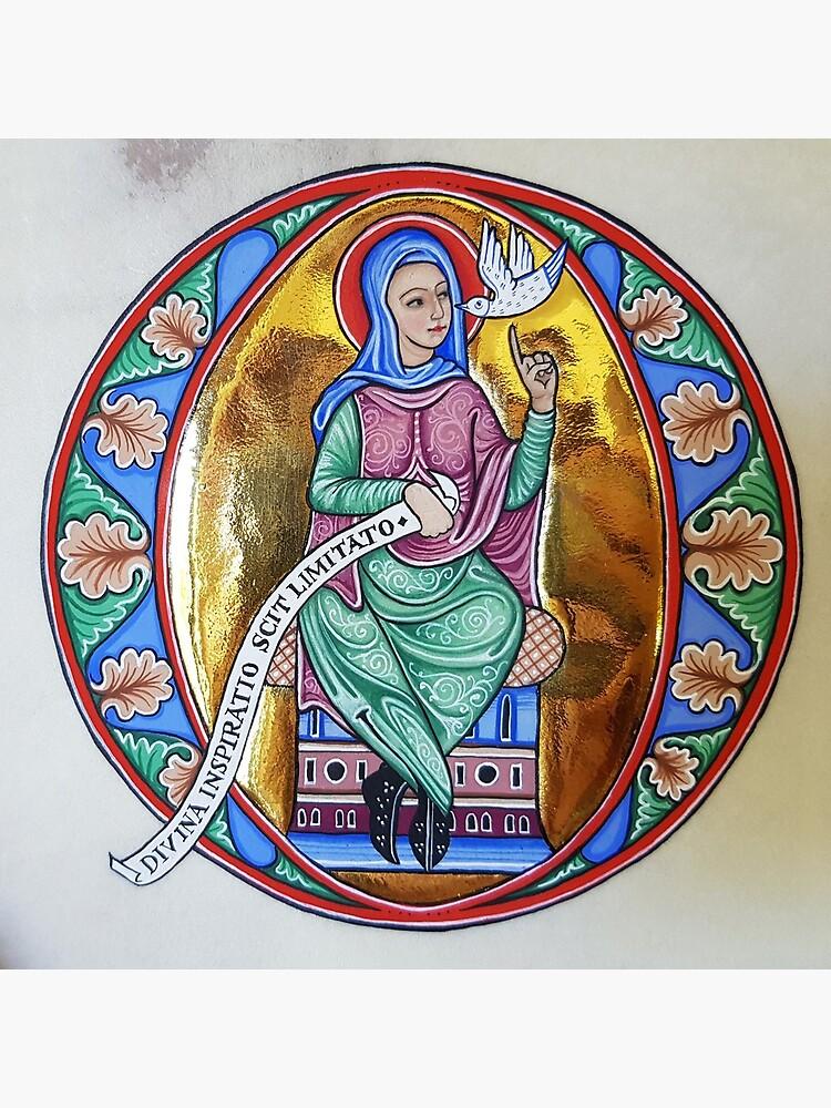 Medieval Illumination - Divine Inspiration by TCilluminate