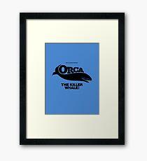 ORCA The Killer Whale 1977 Framed Print