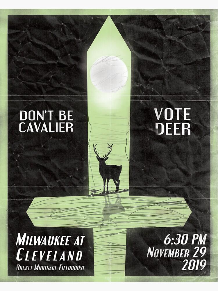 Don't be Cavalier, Vote Deer by AJW3-Art
