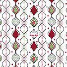 Christmas Baubles by Meg Marchiando