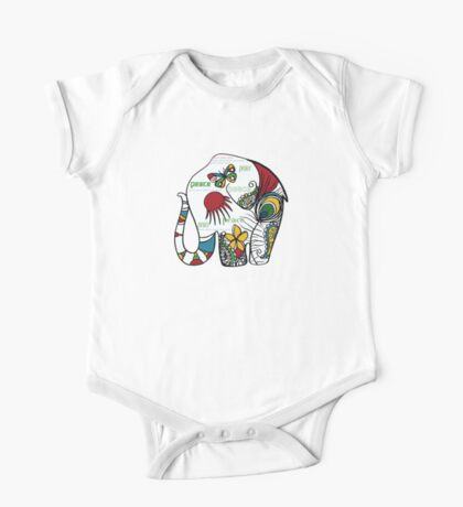 Peace Elephant Kids Clothes