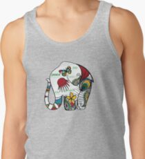 Peace Elephant Tank Top