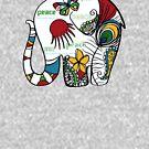 Peace Elephant by Karin Taylor