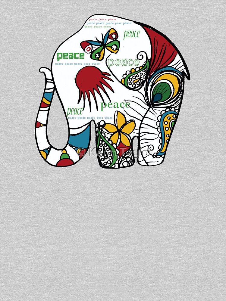 Peace Elephant by karin