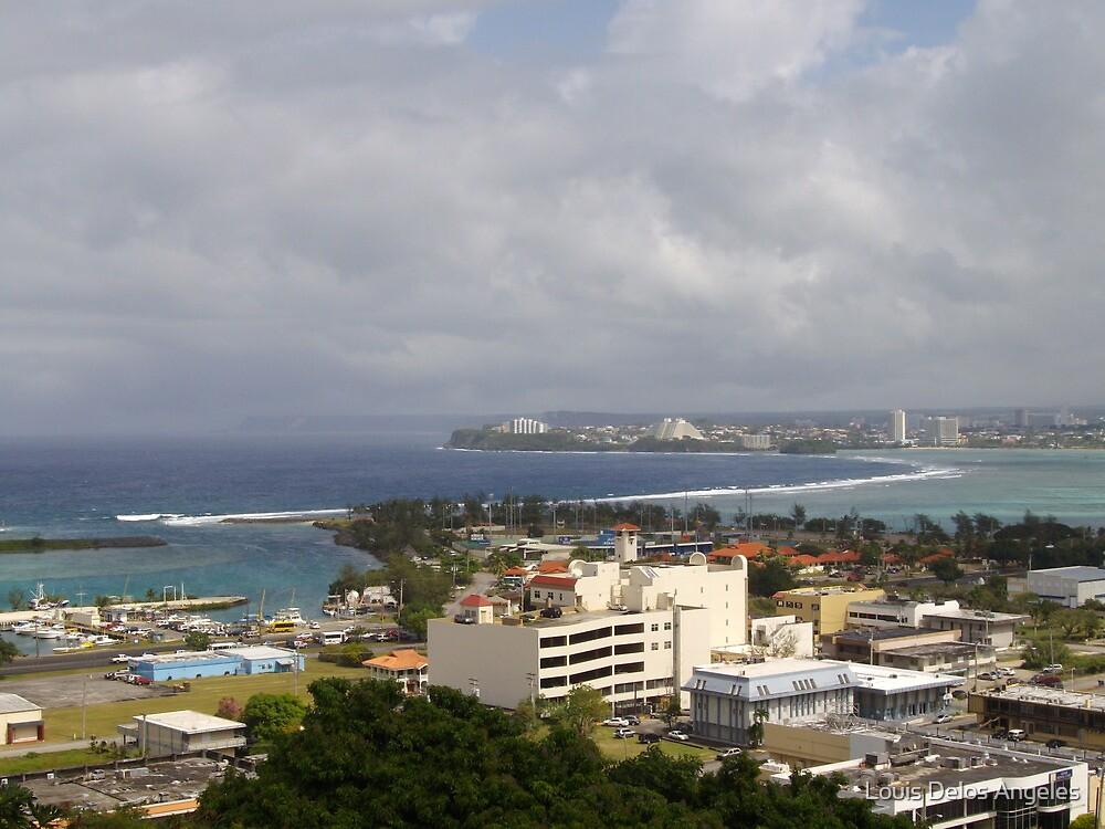 Agana, Guam by Louis Delos Angeles