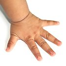 Baby hand by snehit