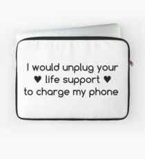 Life Priorities Laptop Sleeve