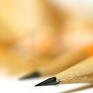 Pencil Close Up by snehit