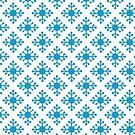 winter decorations with snowflakes,Christmas background by starchim01