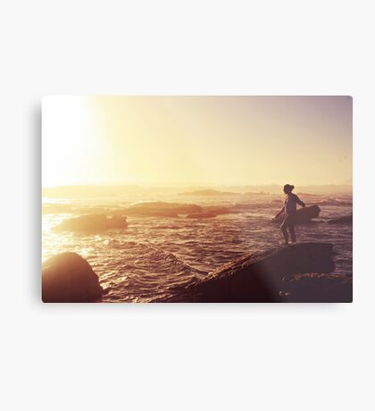 today was a pretty day Metal Print