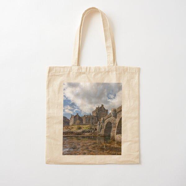 Eilean Donan Castle and Bridge Loch Duich Scotland Cotton Tote Bag