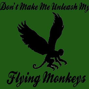 Flying Monkeys by brightgemini