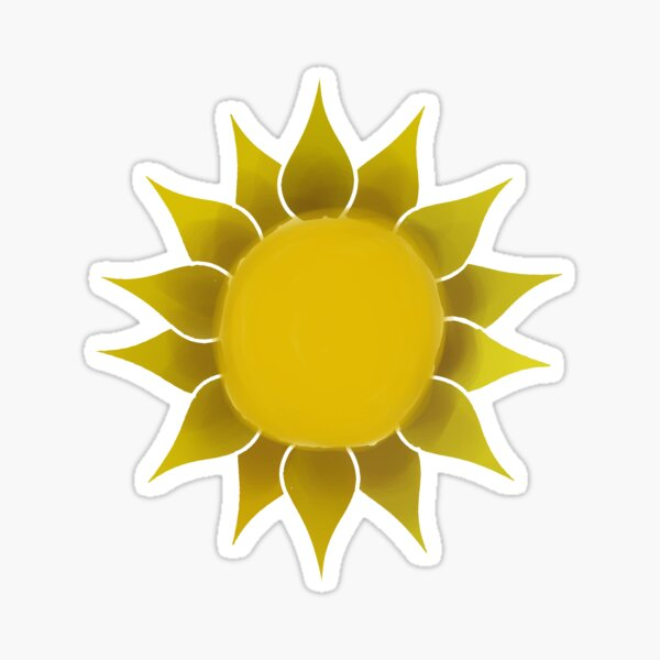 The Sun Sticker