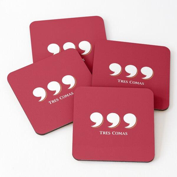 Tres Comas ® Merch - Silicon Valley Coasters (Set of 4)