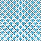 Snowflakes decorations,winter background by starchim01