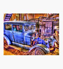 Vintage Car II Photographic Print