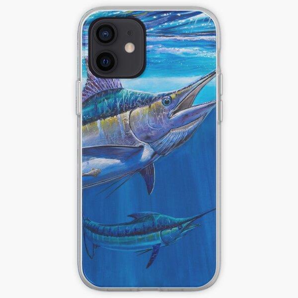 Blue Marlin Bite iPhone Soft Case
