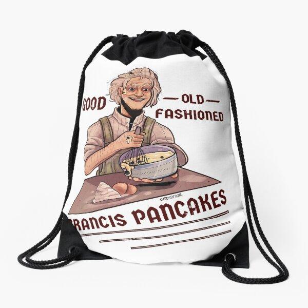 Good Old Fashioned Grancis Pancakes Drawstring Bag