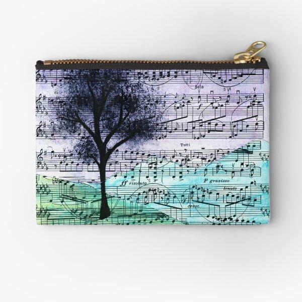 Music Landscape Zipper Pouch