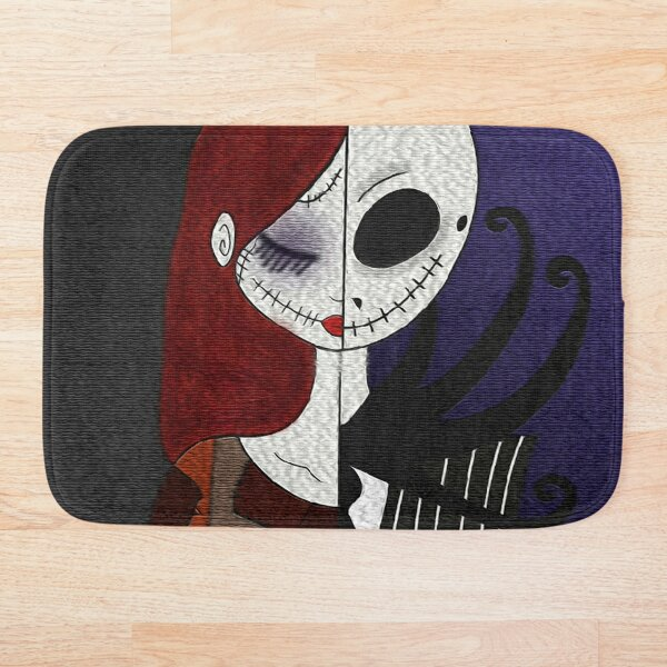 Jack & Sally Bath Mat