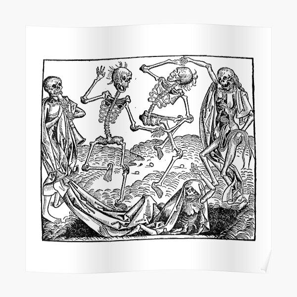 Medieval Dance of Death Poster