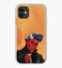 Dapper Devil iPhone Case