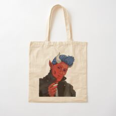 Dapper Devil Cotton Tote Bag