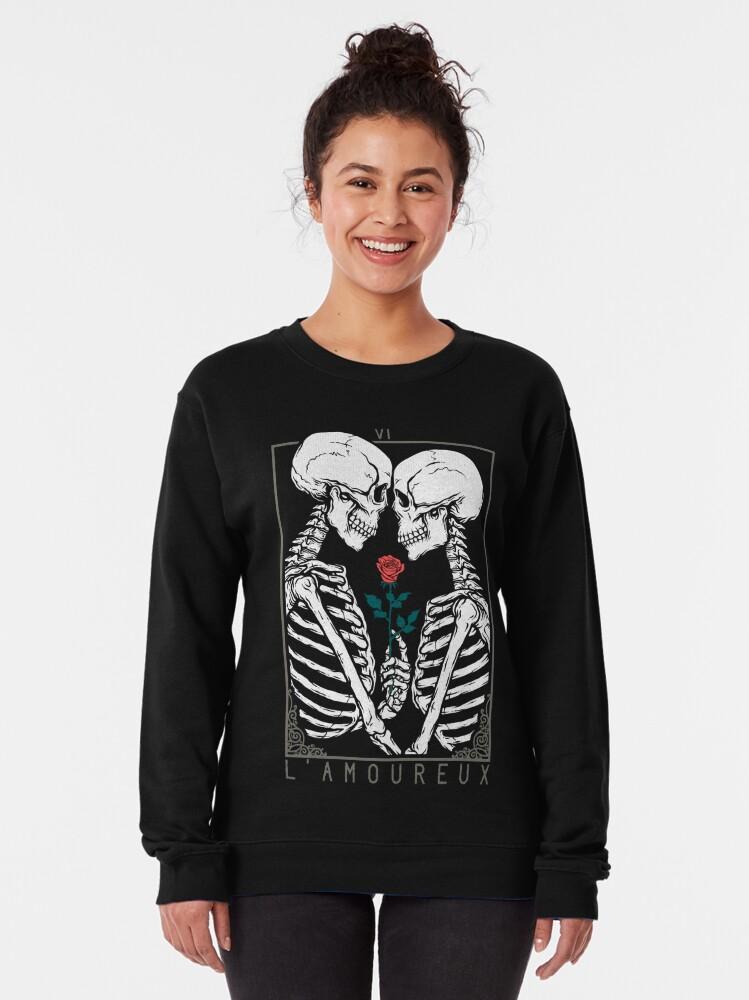 Alternate view of VI The Lovers Pullover Sweatshirt