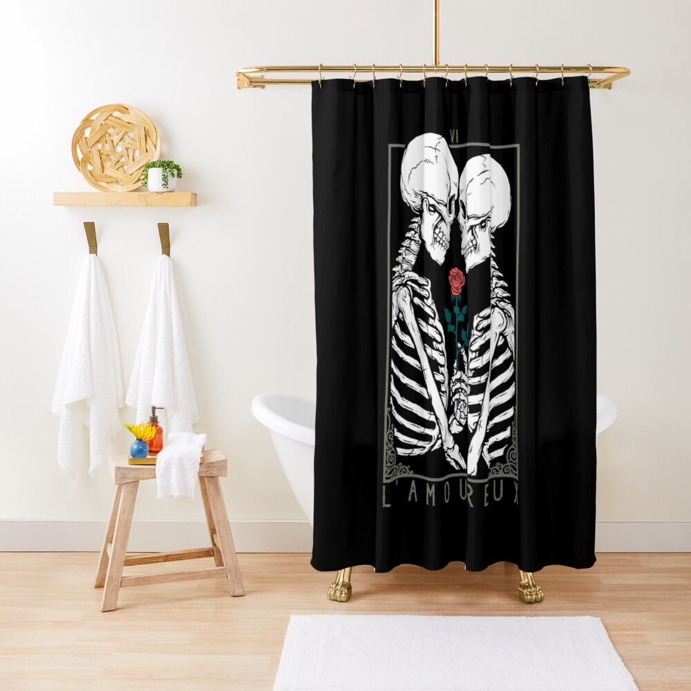 VI The Lovers Shower Curtain