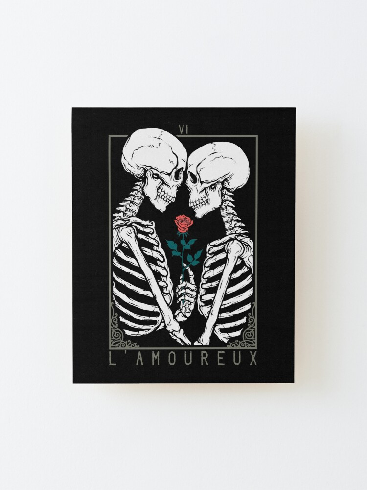 Alternate view of VI The Lovers Mounted Print