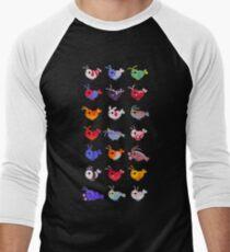 Freshwater shrimp Baseball ¾ Sleeve T-Shirt