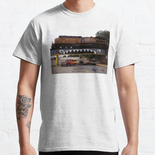 Bridge Shark West with Train, Enid Classic T-Shirt