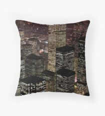 High rise buildings Throw Pillow