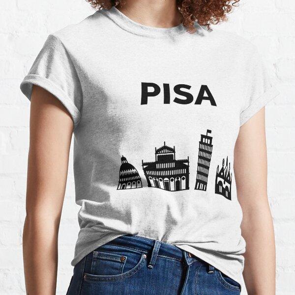 Pisa Skyline, PI, Italy Classic T-Shirt