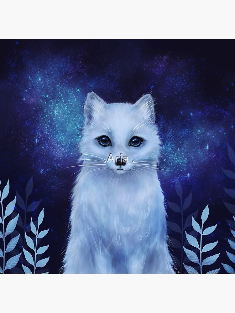 Winter fox by ARiAillustr