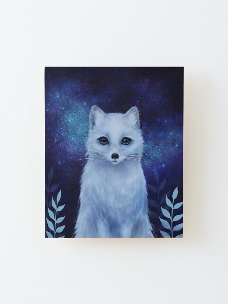 Alternate view of Winter fox Mounted Print