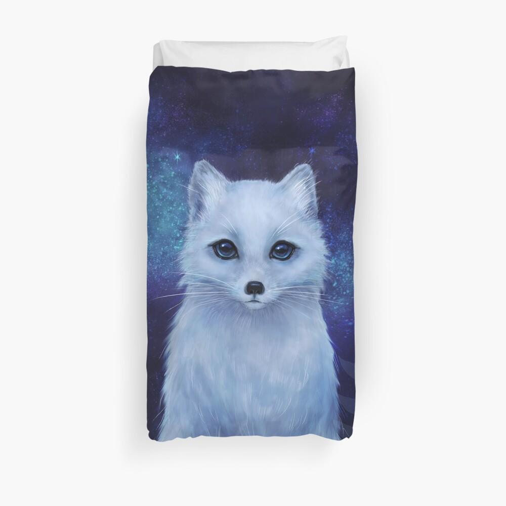 Winter fox Duvet Cover