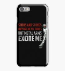 Sticks and Stones iPhone Case/Skin