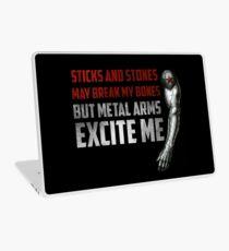 Sticks and Stones Laptop Skin