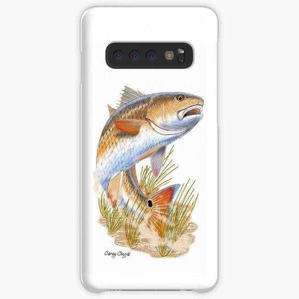 Redfish in grass Samsung Galaxy Snap Case