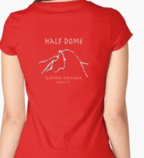 Half Dome Women's Fitted Scoop T-Shirt