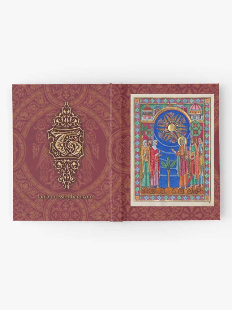 Alternate view of Medieval Illumination - The Invitation Hardcover Journal