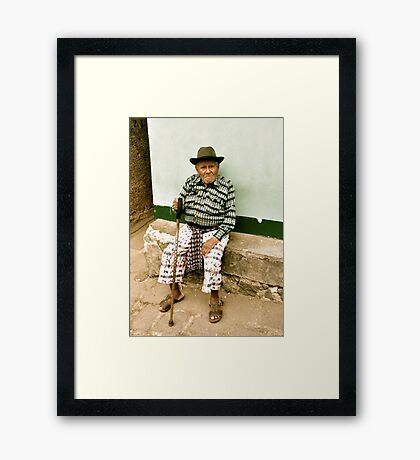 Don Andres Framed Print