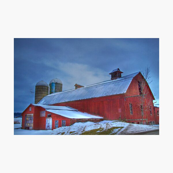 A Cold Snowy  Day Photographic Print