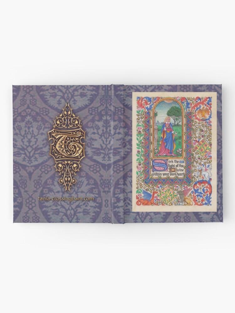 Alternate view of Medieval Illumination - Seek the Light Hardcover Journal