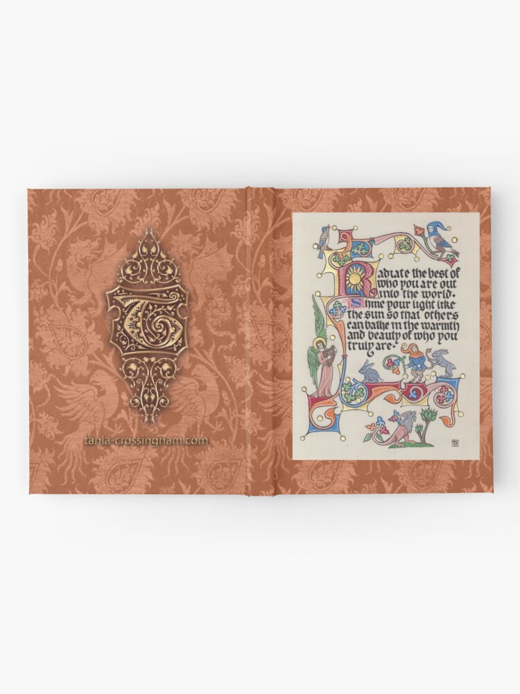 Alternate view of Medieval Illumination - Radiate the best of who you are Hardcover Journal