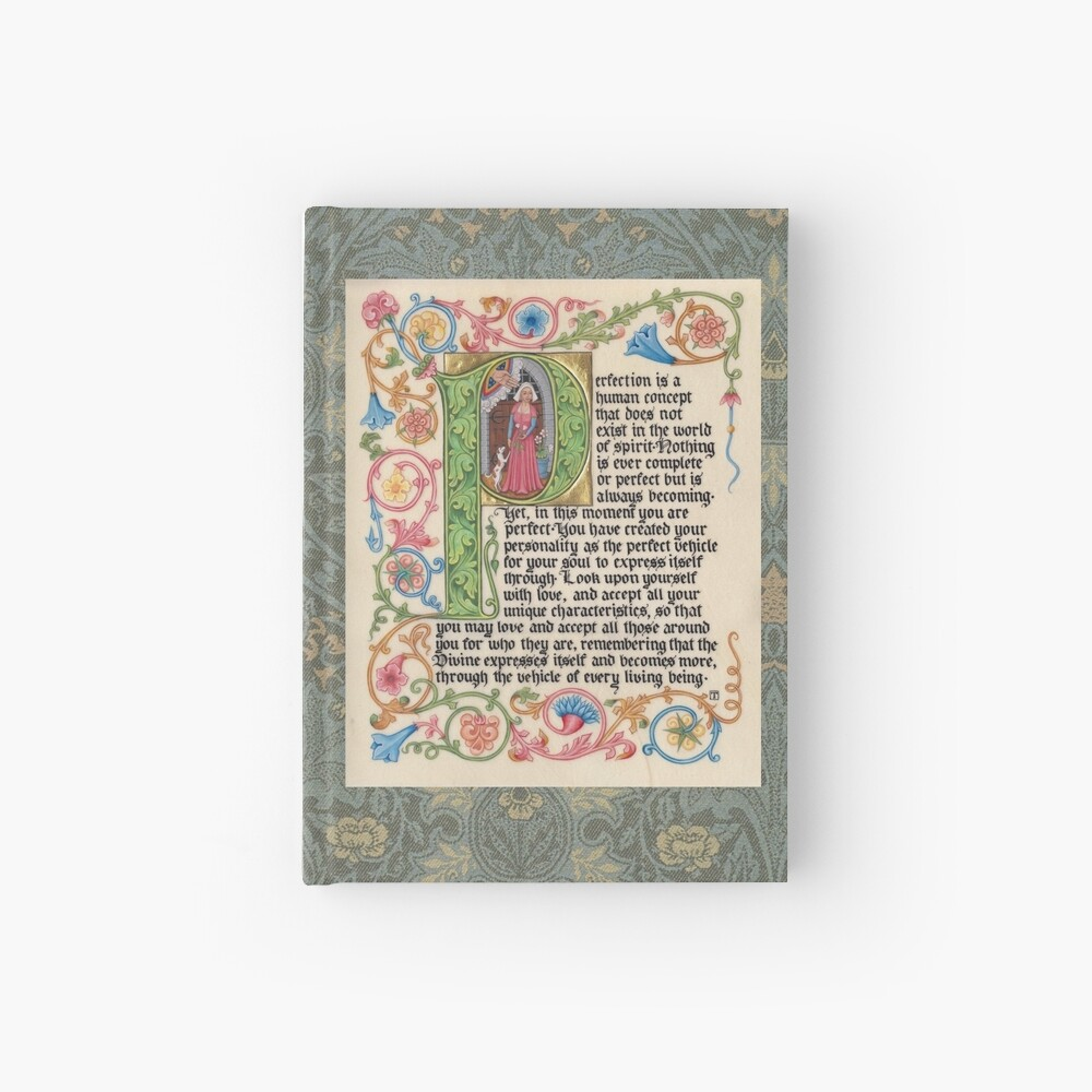 Medieval Illumination - Perfection Hardcover Journal