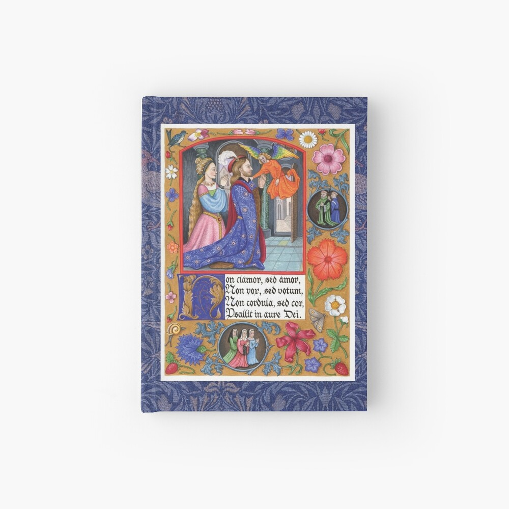 Medieval Illumination - Non Clamor Hardcover Journal