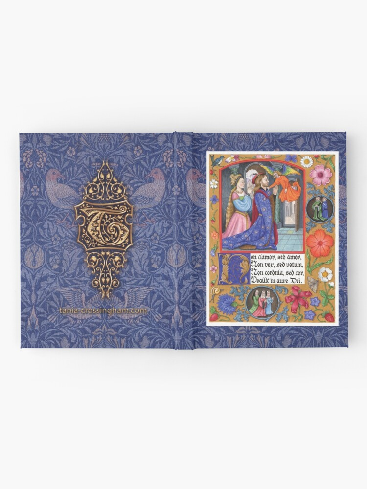 Alternate view of Medieval Illumination - Non Clamor Hardcover Journal